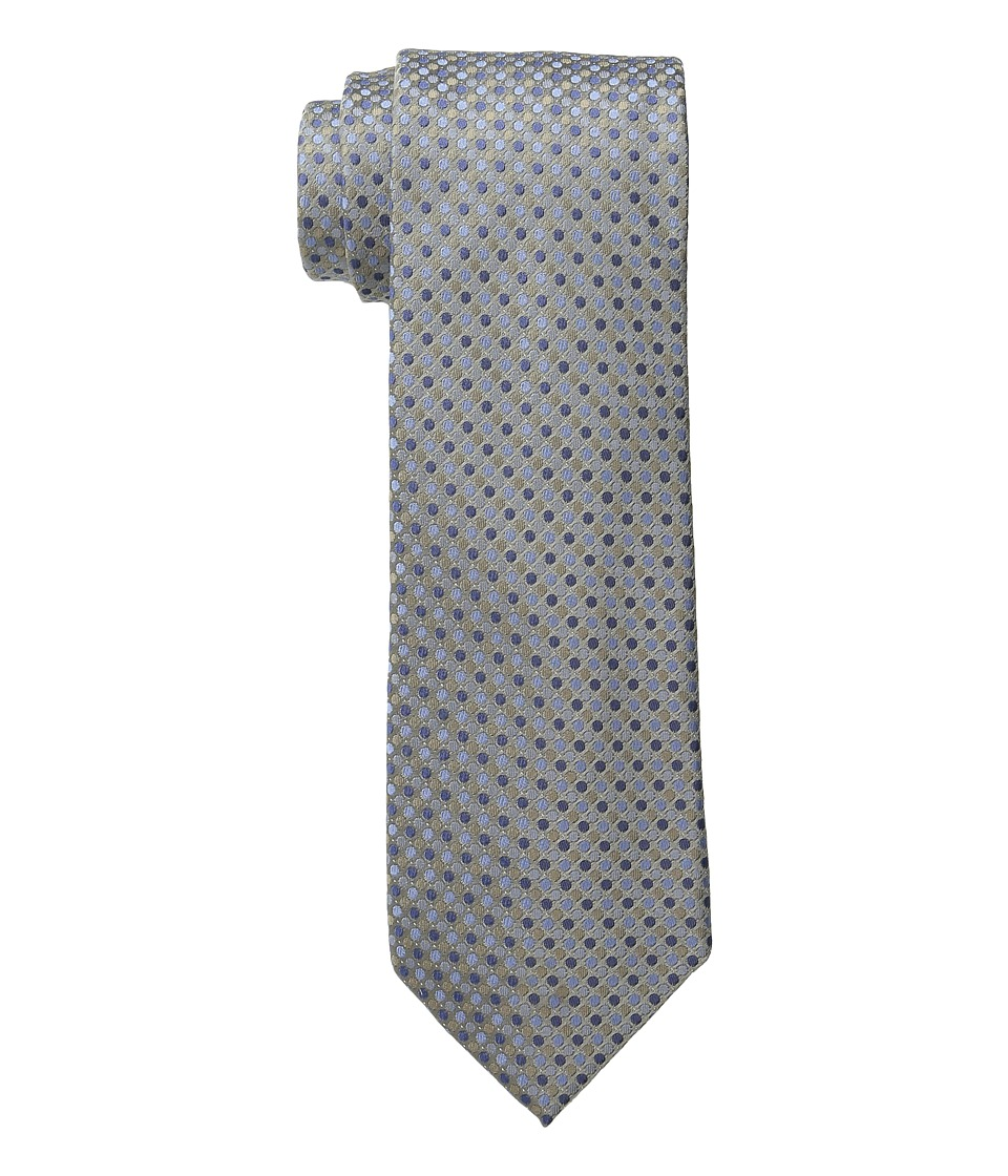 Kenneth Cole Reaction - Multi Dot (Taupe) Ties