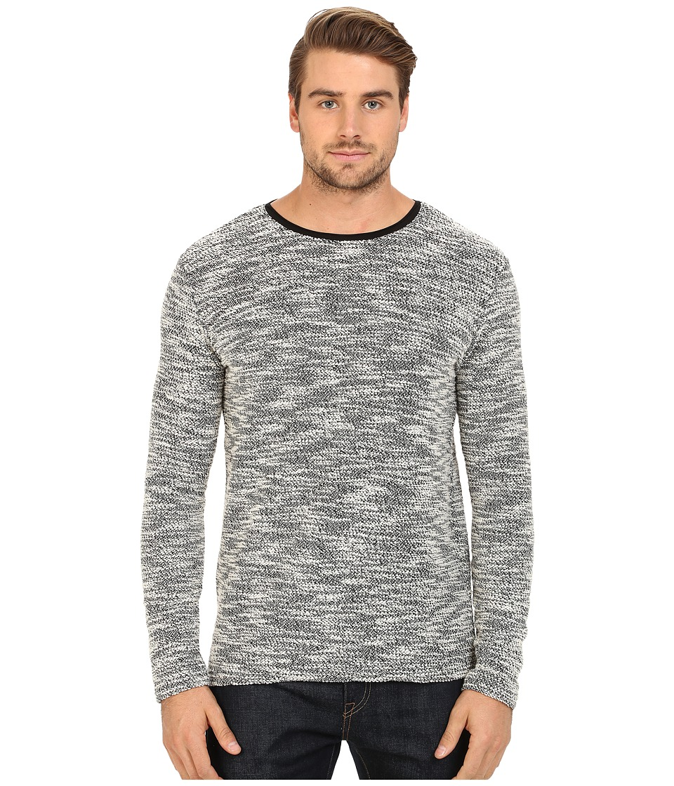 7 Diamonds - Burgos Long Sleeve Shirt (Charcoal) Men's Sweater