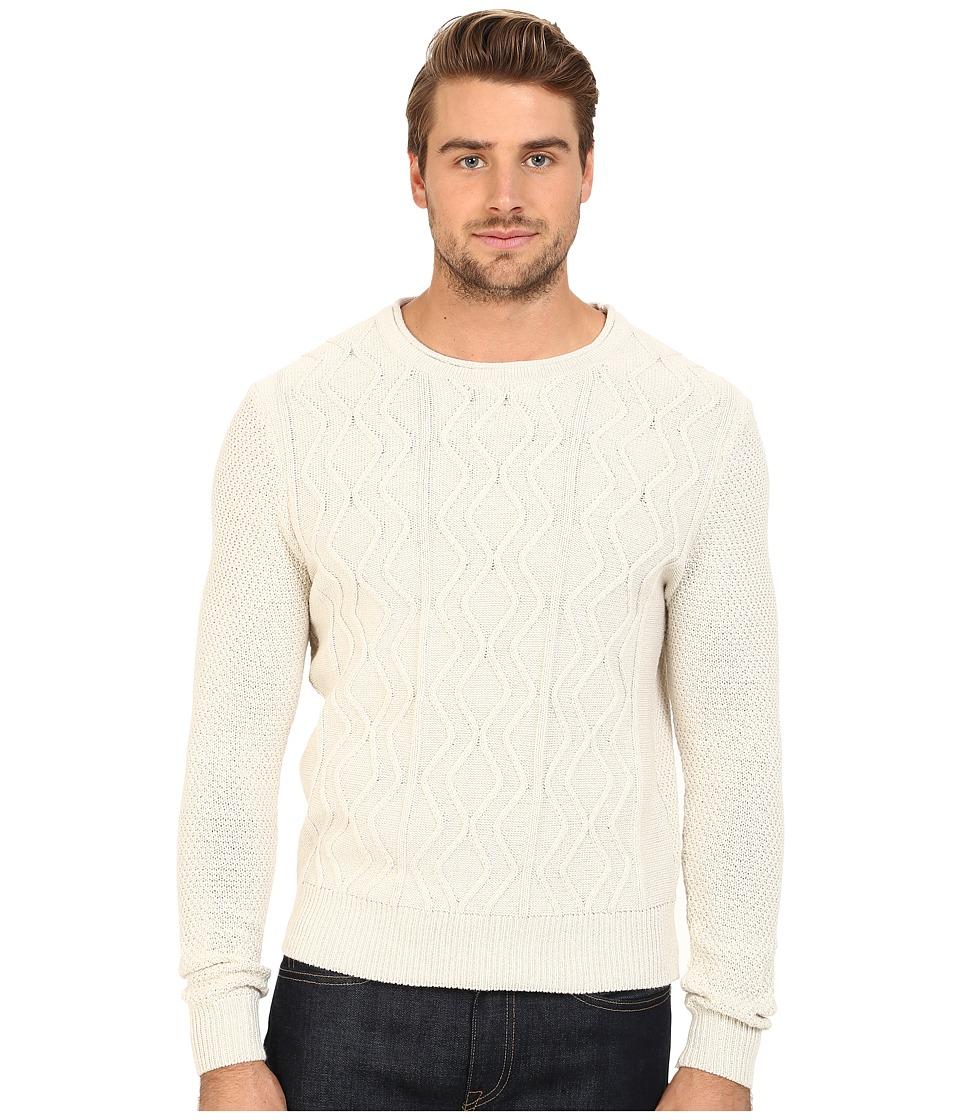 7 Diamonds - Nomad Sweater (Ecru) Men's Sweater
