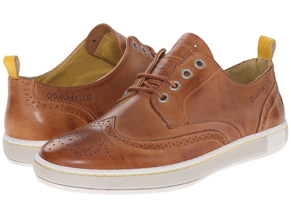 Cycleur de Luxe - Madison (Cognac) Men's Shoes