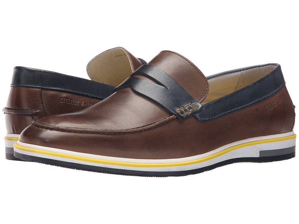 Cycleur de Luxe - Forano (Dark Brown/Navy) Men's Shoes