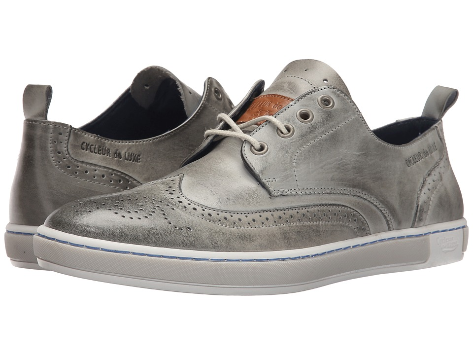 Cycleur de Luxe - Madison (Light Grey) Men's Shoes