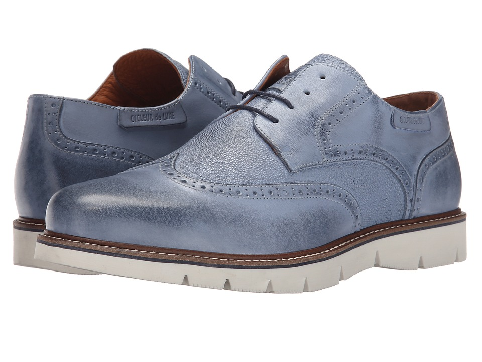 Cycleur de Luxe - Portland Low (Light Blue) Men's Shoes