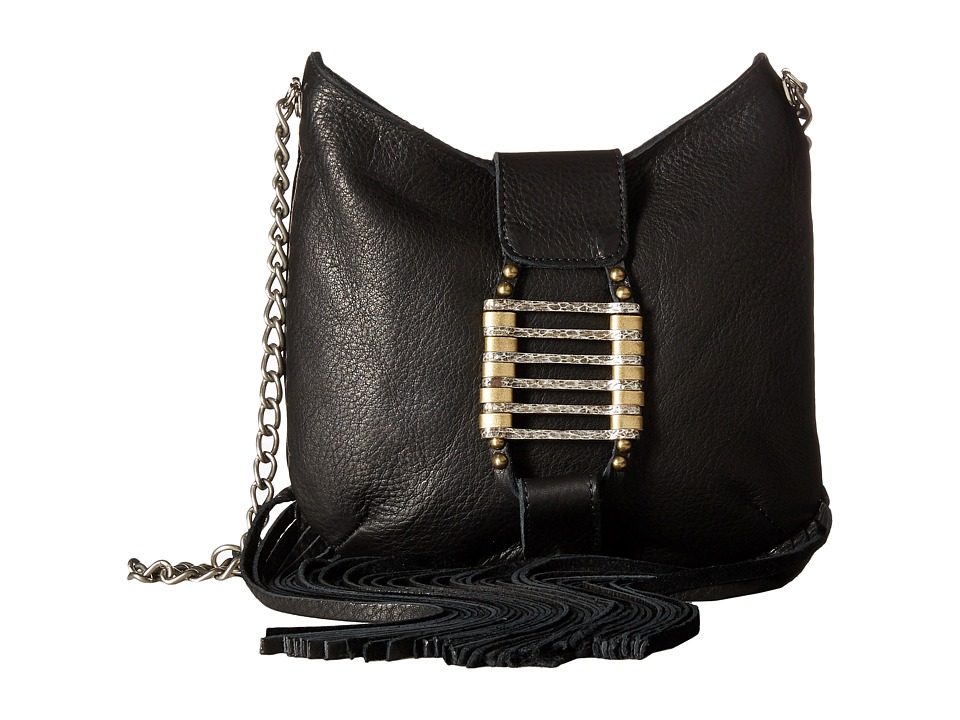 Leatherock - HJ69 (Black) Handbags
