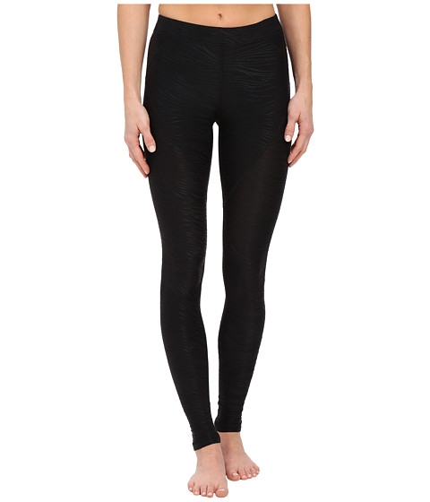 Tonic - Balance Legging (Black Jacqaurd) Women's Workout