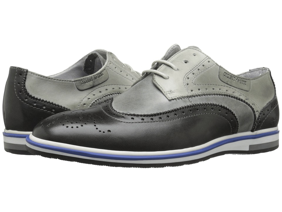 Cycleur de Luxe - Pulsano (Antracite/Tailor Grey) Men's Shoes