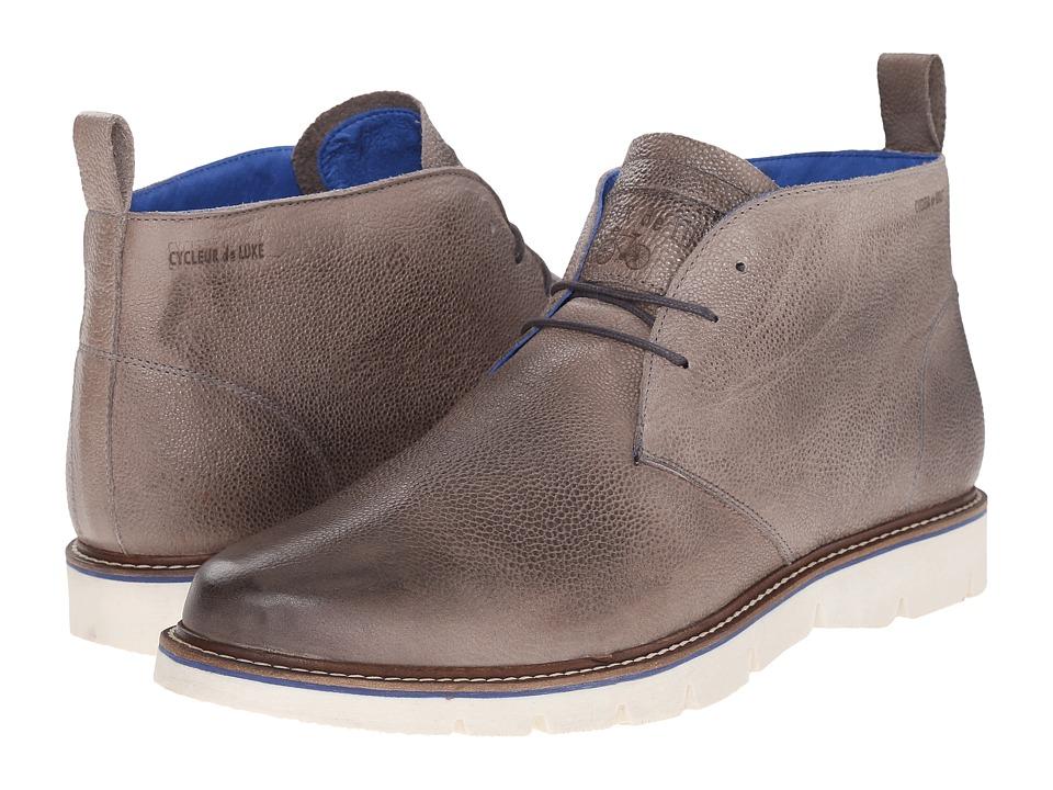 Cycleur de Luxe - Portland (Light Grey) Men's Shoes