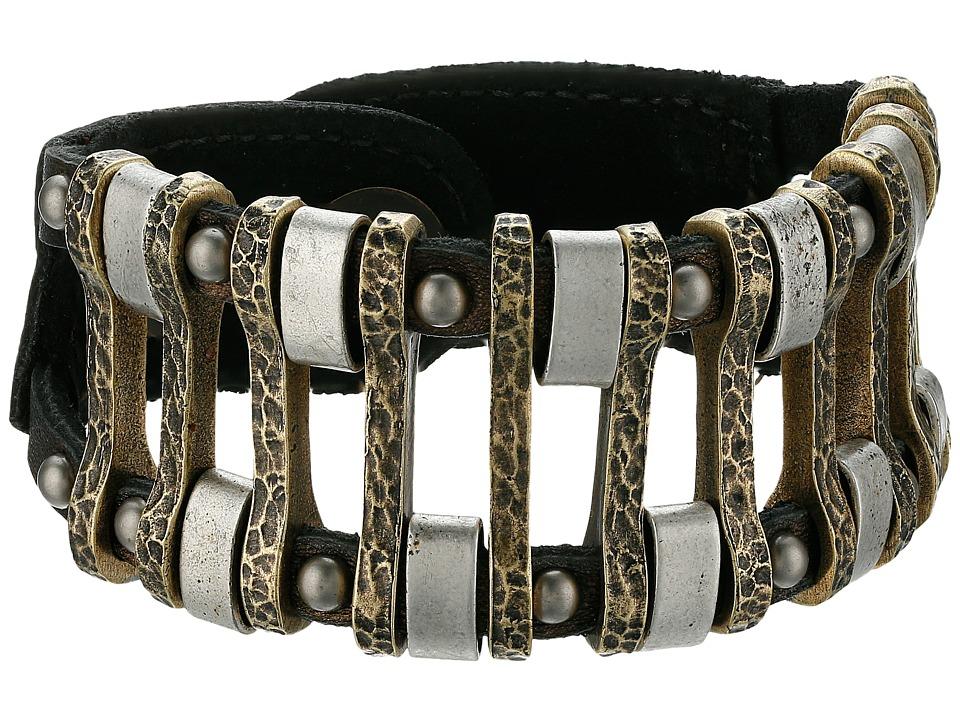 Leatherock - B719 (Bronze) Bracelet