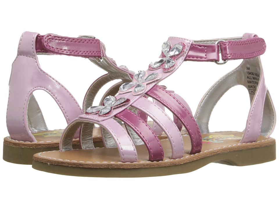 Rachel Kids - India (Toddler/Little Kid) (Pink Metallic) Girls Shoes