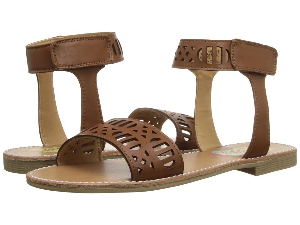 Rachel Kids - Simone (Youth) (Brown Smooth) Girls Shoes