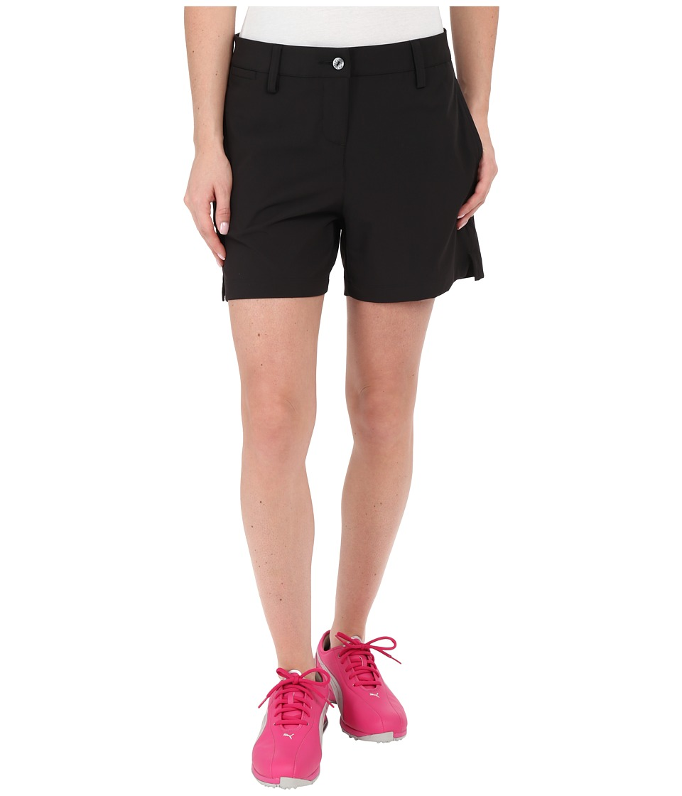 PUMA Golf - Scoop Shorts (Black) Women's Shorts