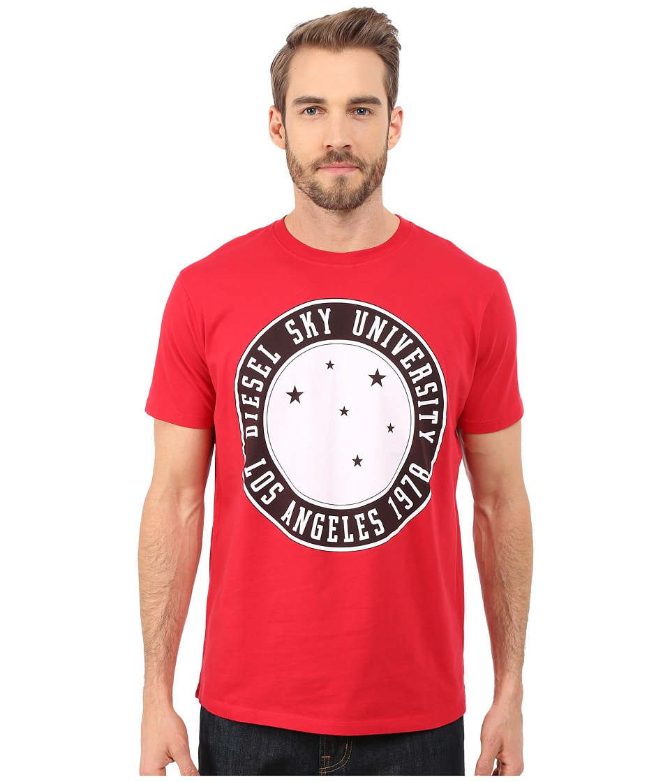 Diesel - T-Joe-A T-Shirt (Vibrant/Red) Men's T Shirt
