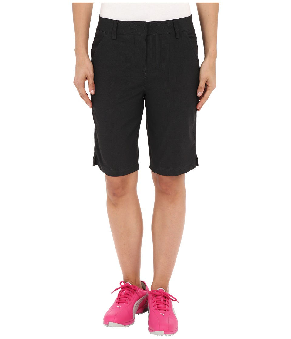 PUMA Golf - Pounce Bermuda (Black) Women's Clothing
