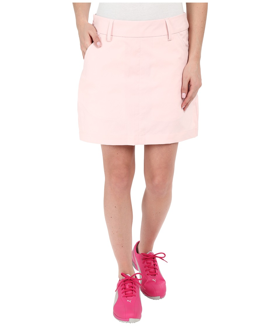 PUMA Golf Pounce Skirt (Pink Dogwood) Women