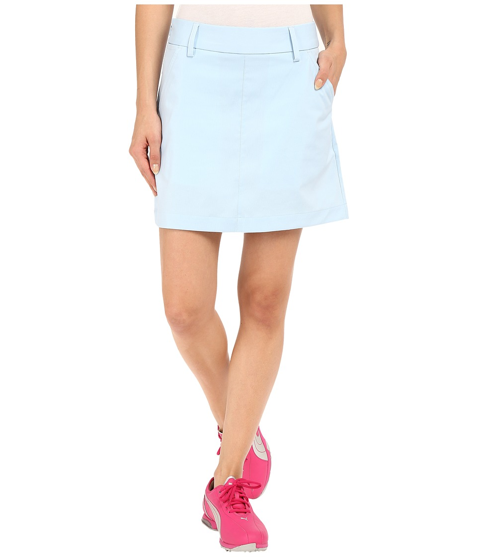 PUMA Golf Pounce Skirt (Cool Blue) Women