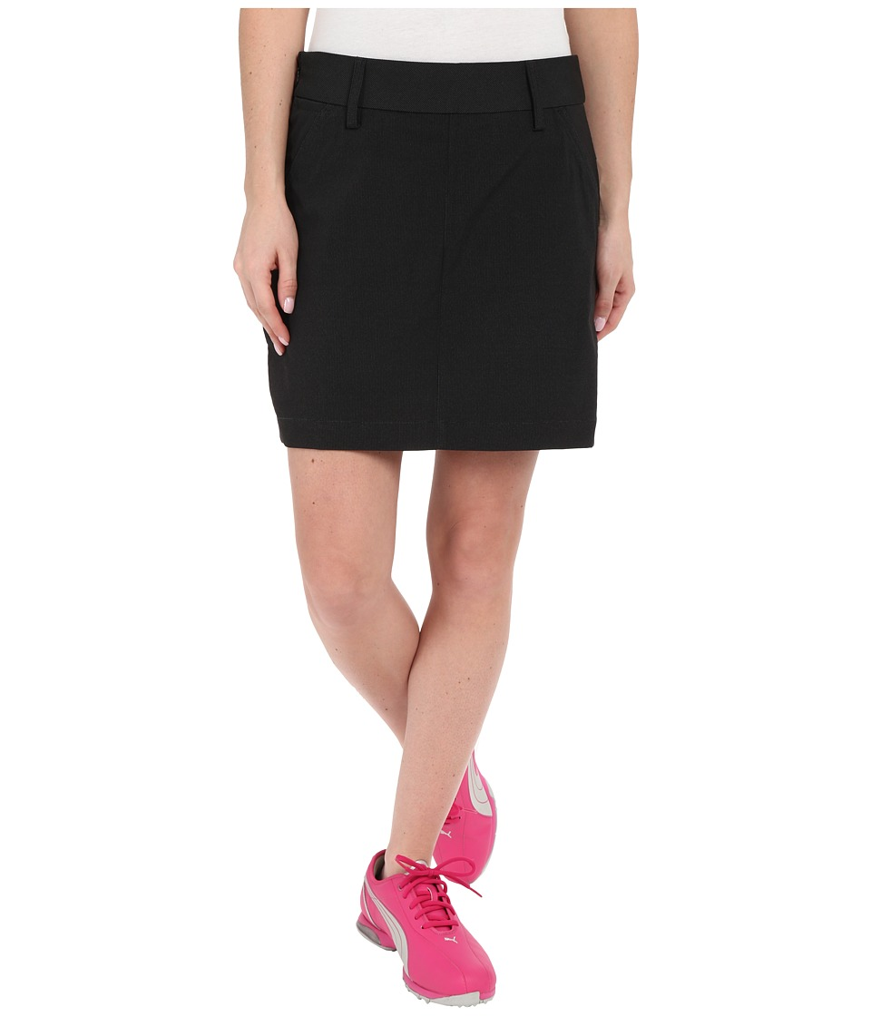 PUMA Golf Pounce Skirt (Black) Women