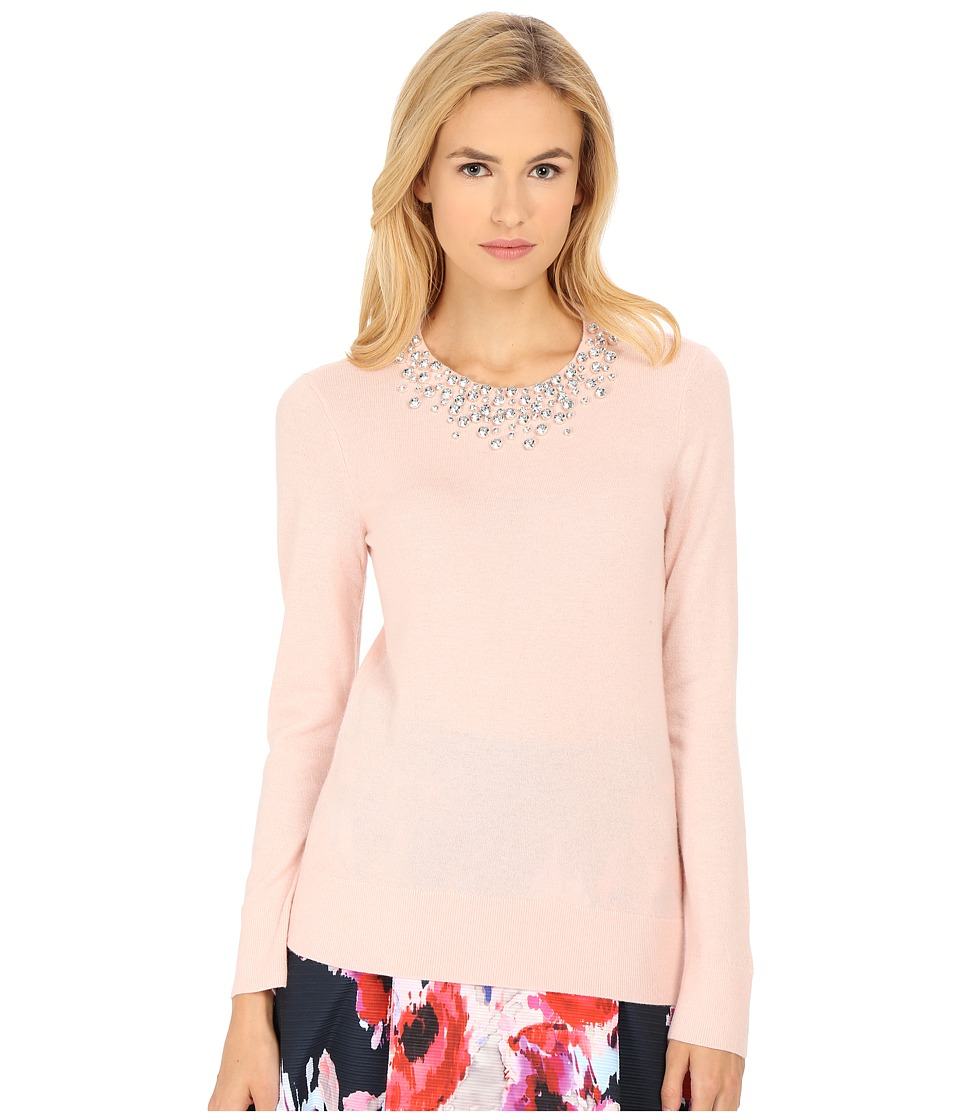 Kate Spade New York - Embellished Sweater (Pastry Pink) Women