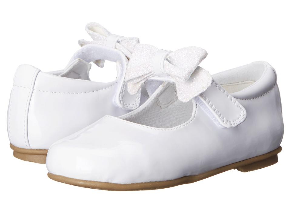 Rachel Kids - Camila (Toddler/Little Kid) (White Patent) Girls Shoes