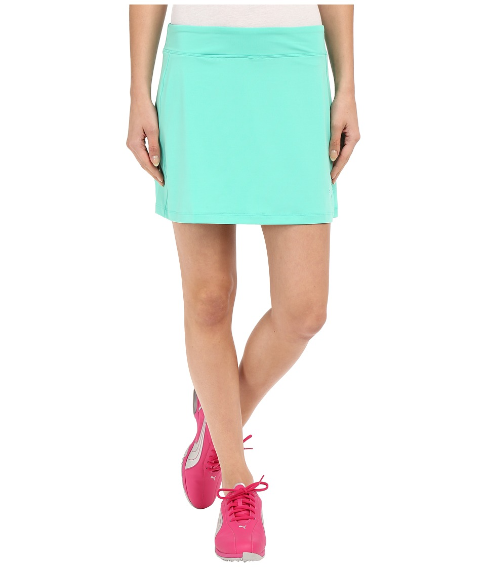 PUMA Golf - Solid Knit Skirt (Mint Leaf) Women's Skort