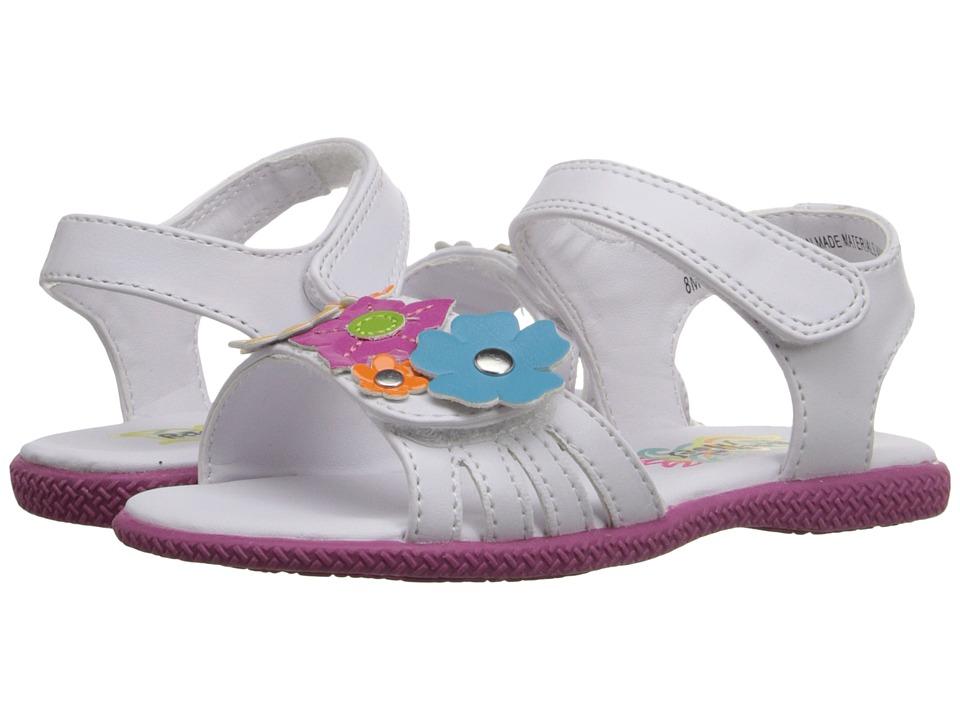 Rachel Kids - Melrose (Toddler/Little Kid) (White/Multi) Girls Shoes