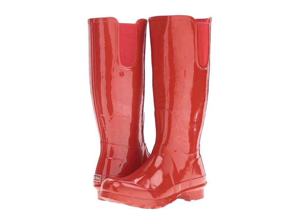 Tundra Boots - Misty (Red) Women's Rain Boots