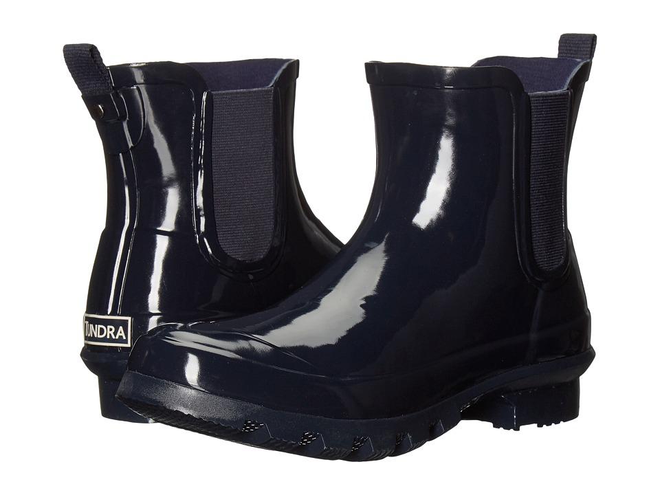 Tundra Boots - Casey (Navy) Women's Rain Boots