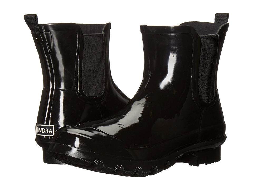 Tundra Boots - Casey (Black) Women's Rain Boots
