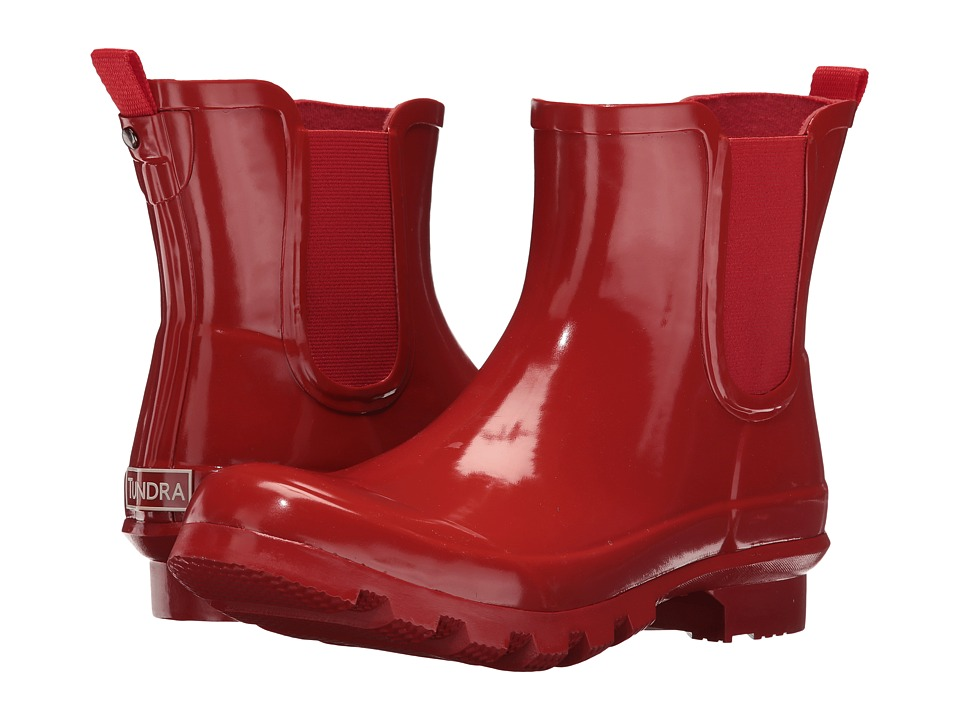 Tundra Boots - Casey (Red) Women's Rain Boots