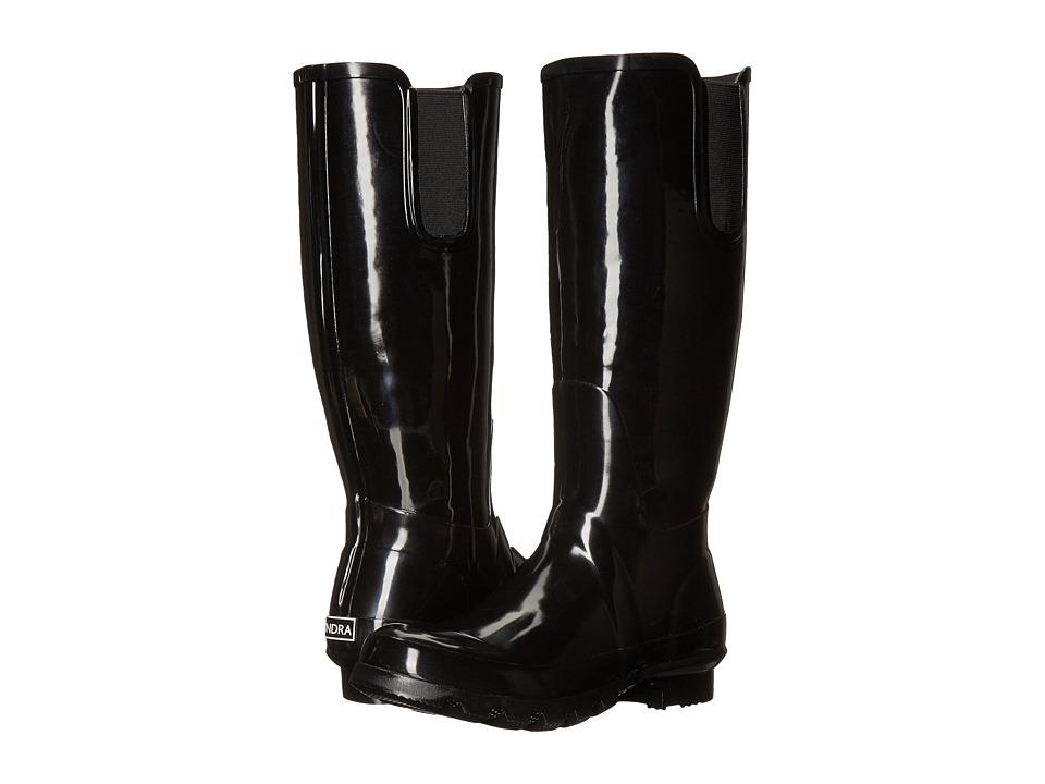 Tundra Boots - Misty (Black) Women's Rain Boots