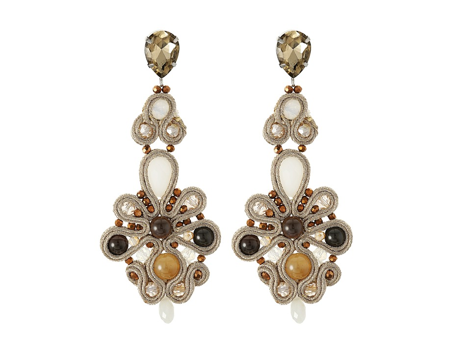 Gypsy SOULE - CRE59 (Amber/Gold/Brown) Earring