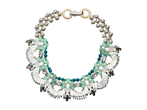 Gypsy SOULE - CRN48 Necklace (Pearl/Turquoise) Necklace
