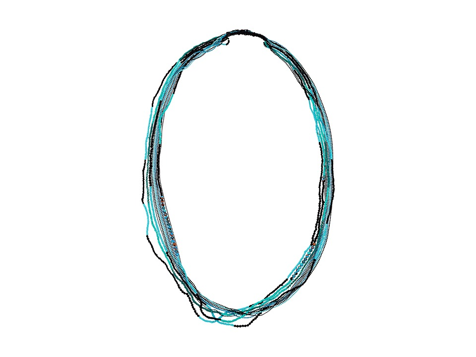 Gypsy SOULE - CRN27 (Turquoise/Purple/Green) Necklace