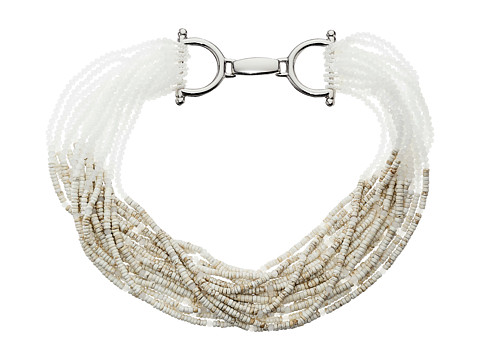 Gypsy SOULE - CRN37 (Bone/Pearl) Necklace