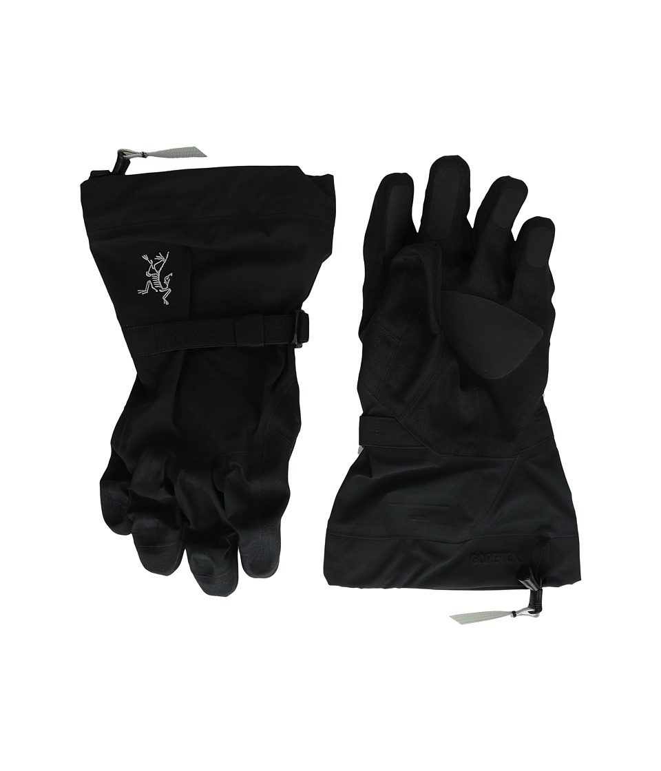 Arc'teryx - Beta Shell Gloves (Black) Ski Gloves