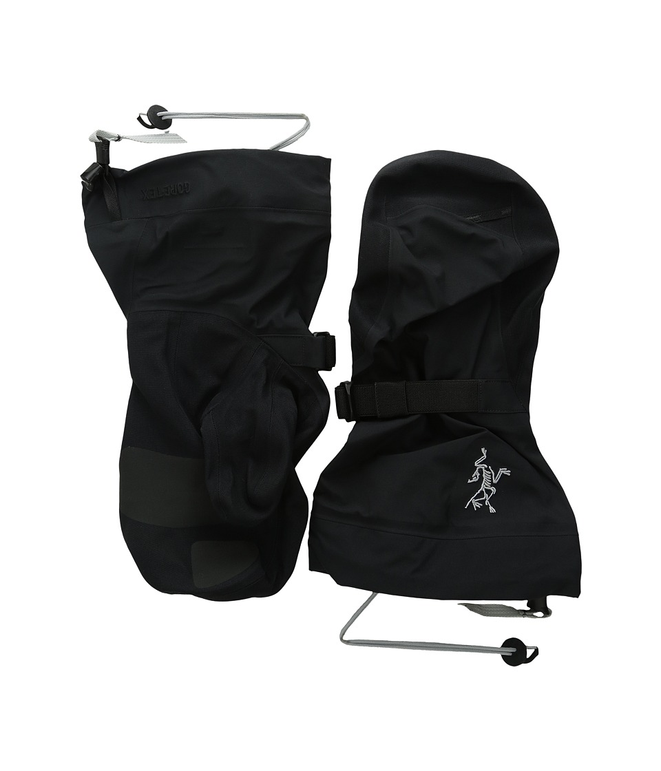 Arc'teryx - Beta Shell Mitten (Black) Ski Gloves