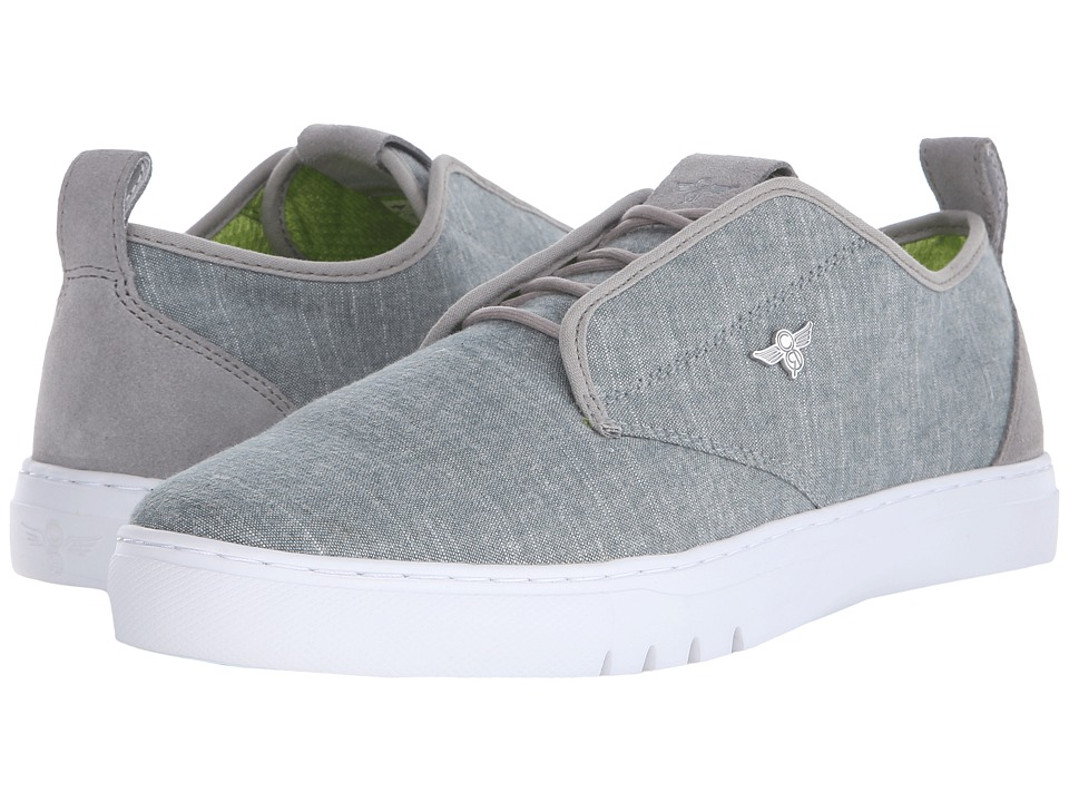 creative recreation lacava q green chambray men s lace up casual