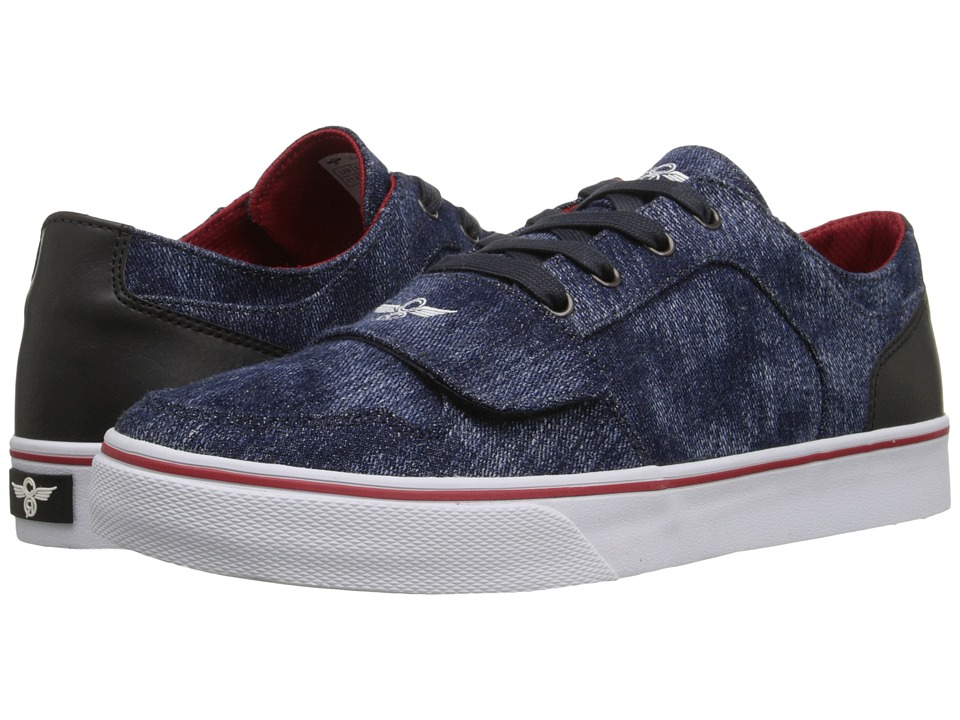 Creative Recreation - Cesario Lo XVI (Blue Denim/Black) Men's Shoes