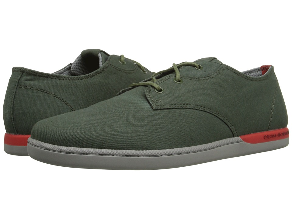 Creative Recreation - Vito Lo (Forest/Grey/Red/Raincoat) Men's Lace up casual Shoes