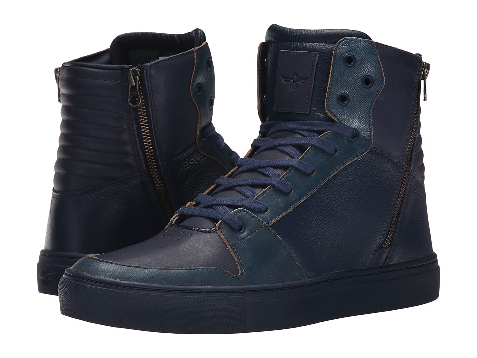 Creative Recreation - Adonis (Navy Leather) Men's Shoes