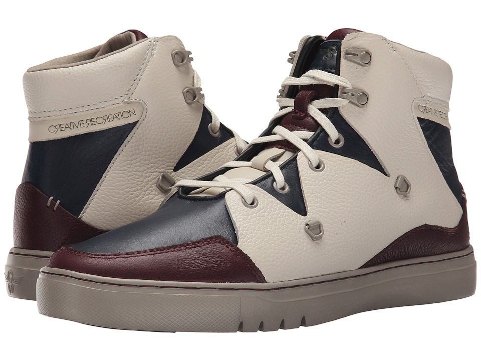 Creative Recreation - Spero (Beige/Burgundy/Navy) Men's Lace up casual Shoes