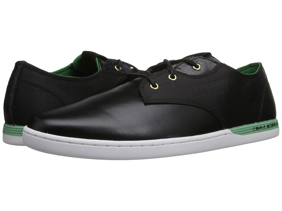 Creative Recreation - Vito Lo (Black/White/Green Sport) Men's Lace up casual Shoes