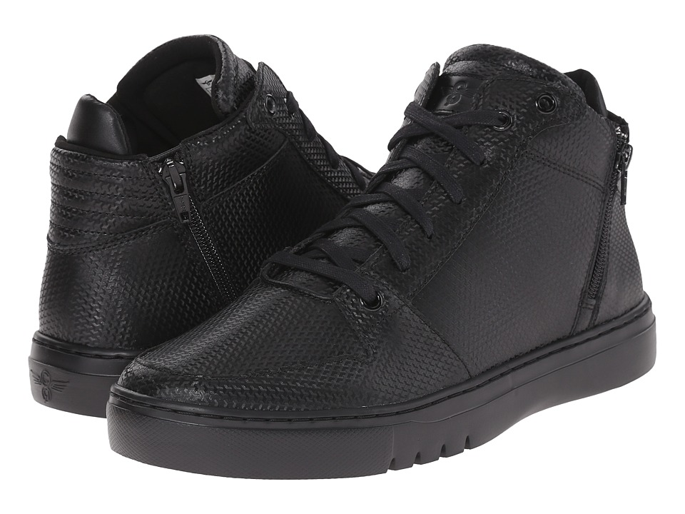 Creative Recreation - Adonis Mid (Black/Black) Men's Lace up casual Shoes