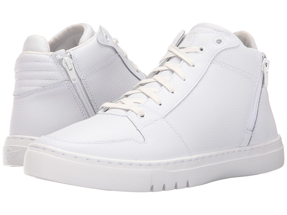 Creative Recreation - Adonis Mid (White/White) Men's Lace up casual Shoes