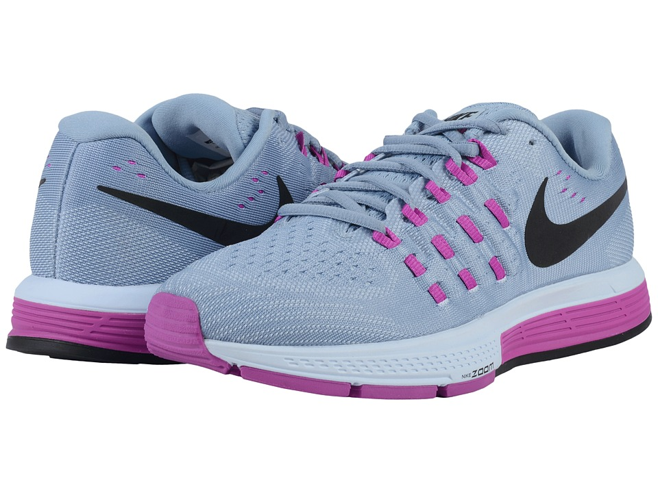 Nike - Air Zoom Vomero 11 (Blue Grey/Hyper Violet/Blue Tint/Black) Women's Running Shoes