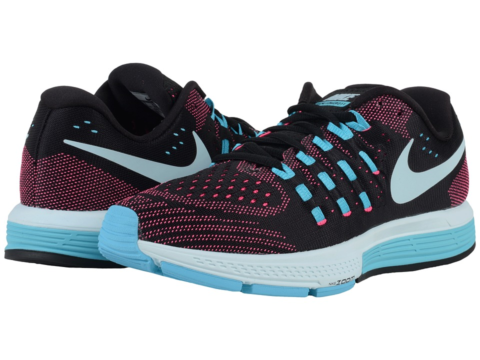 Nike - Air Zoom Vomero 11 (Black/Pink Blast/Gamma Blue/Glacier Blue) Women's Running Shoes