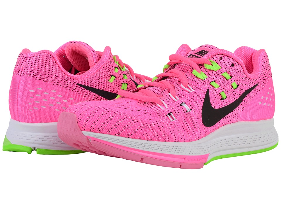 Nike - Air Zoom Structure 19 (Pink Blast/Black/Electric Green) Women's Running Shoes