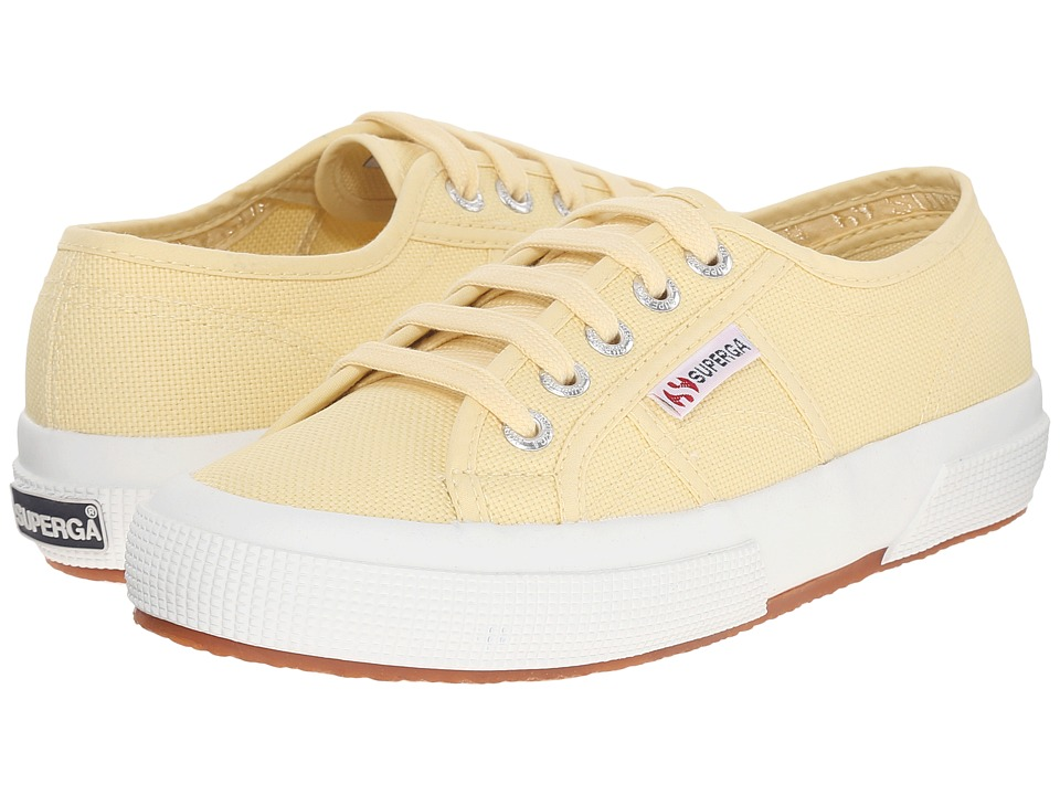 Superga - 2750 COTU Classic (Pale Yellow) Lace up casual Shoes