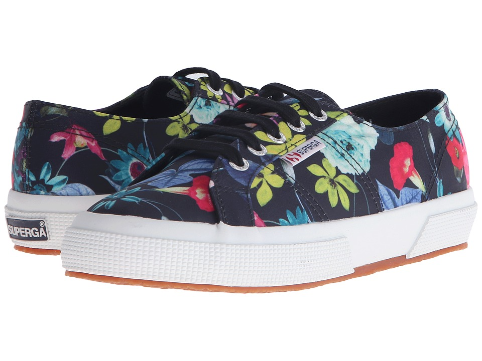 Superga - 2750 Fanrasow (Black Multi) Women