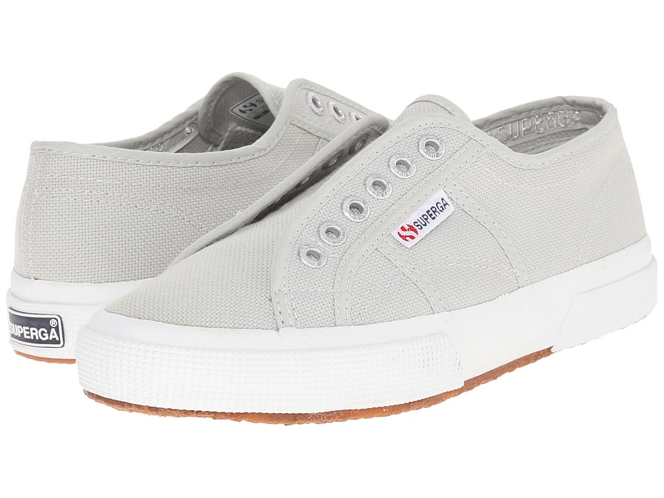 Superga - 2750 Cotu Slip-On (Alluminum) Women's Slip on Shoes