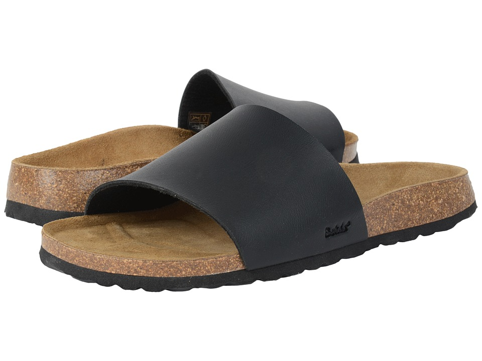 Betula Licensed by Birkenstock - Reggae Birko-Flor (Black) Women's Shoes